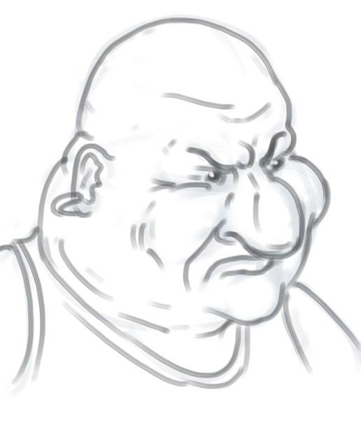Cartoon Faces based on the Face Task Idea Generator, part II.