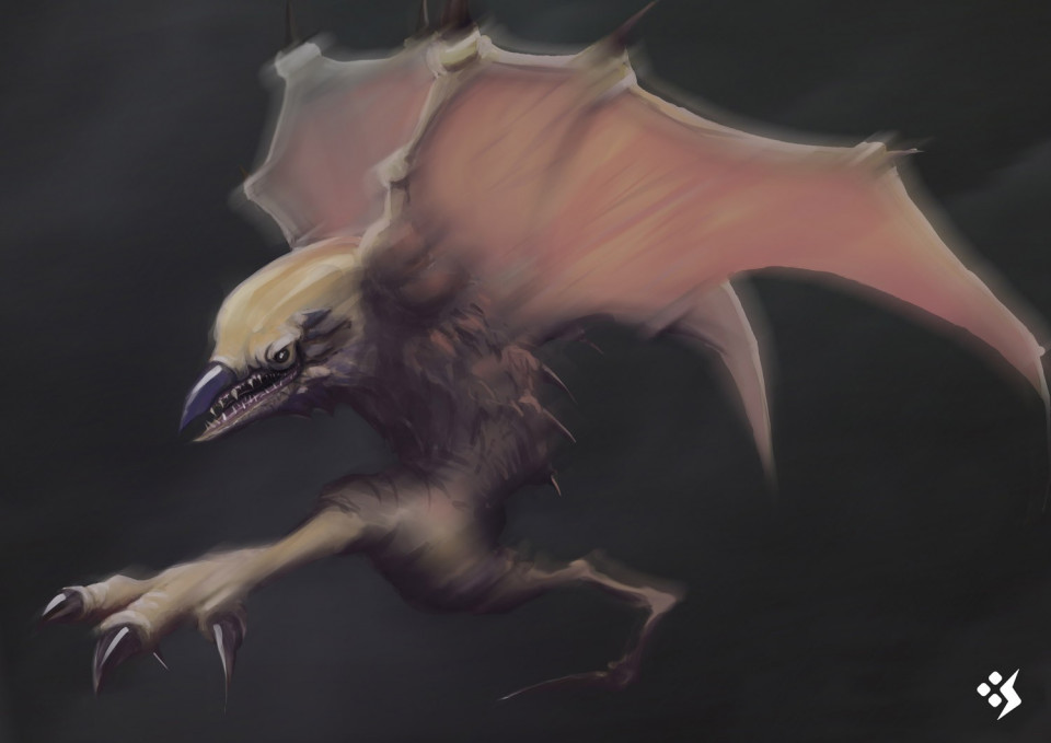 Creature designs inspired by Concept Start