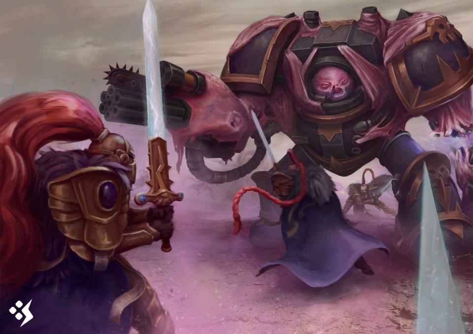 Warhammer Fan Art featured Vigilante Squad!