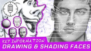 Drawing Tutorial: Basics of Drawing & Shading Faces